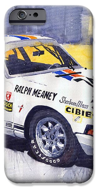 Porsche 911 Sebring 1970 Ralf Meaney iPhone Case by Yuriy  Shevchuk