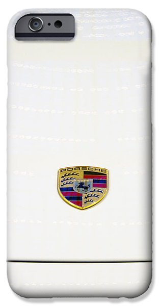 Steering iPhone Cases - Porsche iPhone Case by Stylianos Kleanthous