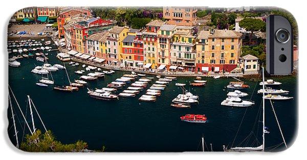 Boat iPhone Cases - Portofino iPhone Case by Brian Jannsen