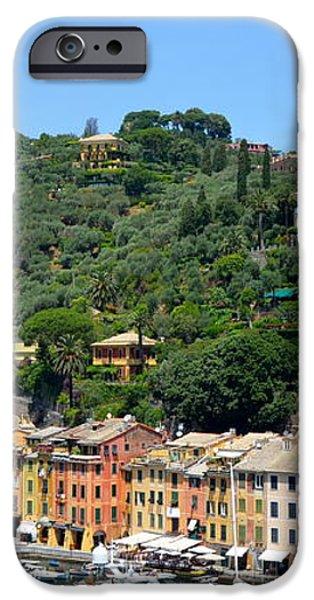 Portofino Hillside iPhone Case by Corinne Rhode