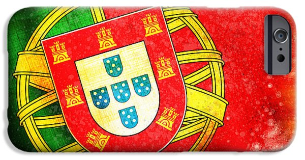 Sheets iPhone Cases - Portugal Flag  iPhone Case by Setsiri Silapasuwanchai