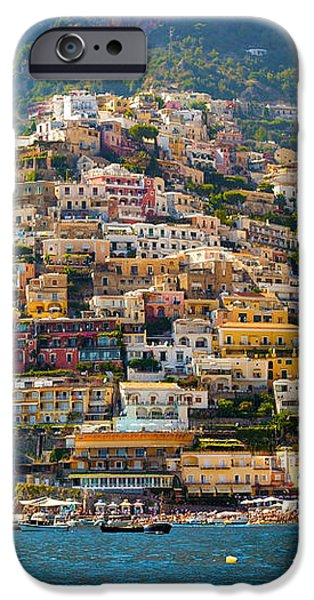 Positano  iPhone Case by Francesco Riccardo  Iacomino