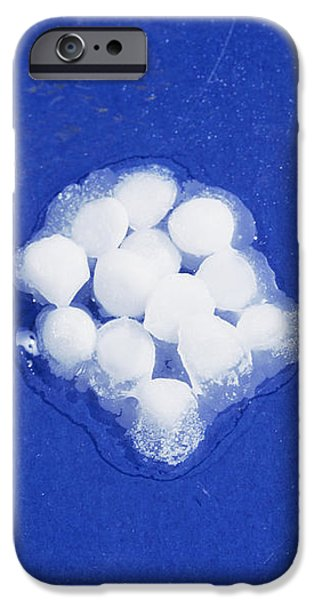 Potassium Hydroxide Pellets iPhone Case by Andrew Lambert Photography