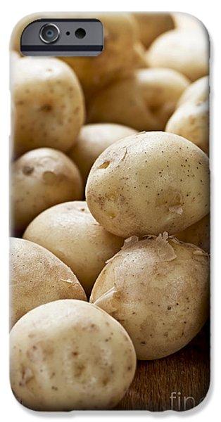 Potatoes iPhone Case by Elena Elisseeva