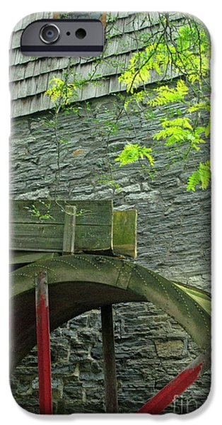 Grist Mill iPhone Cases - Power Before Electric iPhone Case by Paul W Faust -  Impressions of Light