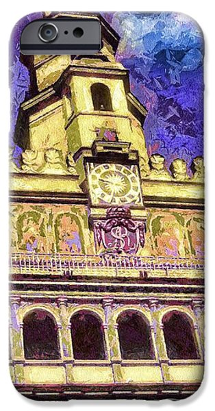 Poznan City Hall iPhone Case by Mo T