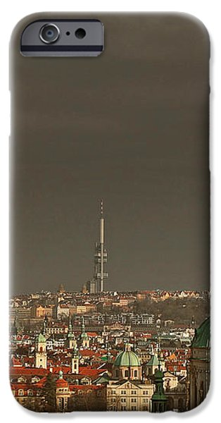 Prague - A symphony in stone iPhone Case by Christine Till