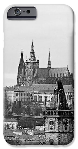 Prague - City of a Hundred Spires iPhone Case by Christine Till