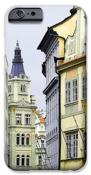 Prague - Walking in the footsteps of kings iPhone Case by Christine Till