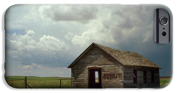 Nebraska Photographs iPhone Cases - Prairie Church iPhone Case by Jerry McElroy