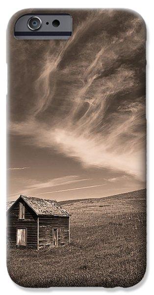 Nebraska iPhone Cases - Prairie Dreams iPhone Case by Chris  Allington