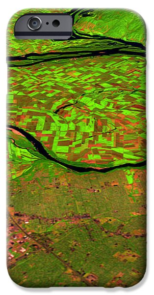 Pre-flood Rivers iPhone Case by Nasagoddard Space Flight Center