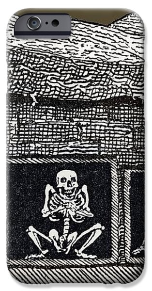 Prehistoric Tomb, Sweden iPhone Case by Sheila Terry