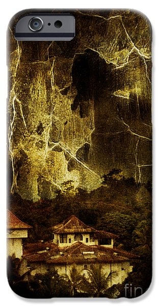 White House iPhone Cases - Premonitions iPhone Case by Andrew Paranavitana
