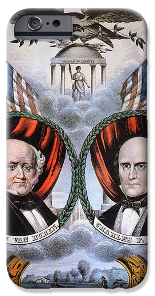 PRESIDENTIAL CAMPAIGN, 1848 iPhone Case by Granger