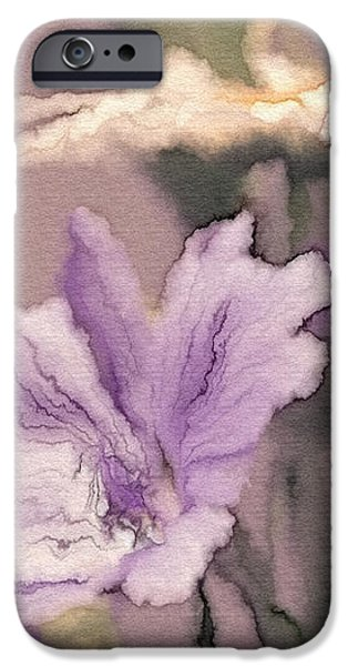 Pretty Bouquet - a05t01 iPhone Case by Variance Collections