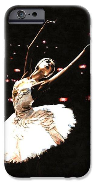 Ballerinas iPhone Cases - Prima Ballerina iPhone Case by Richard Young
