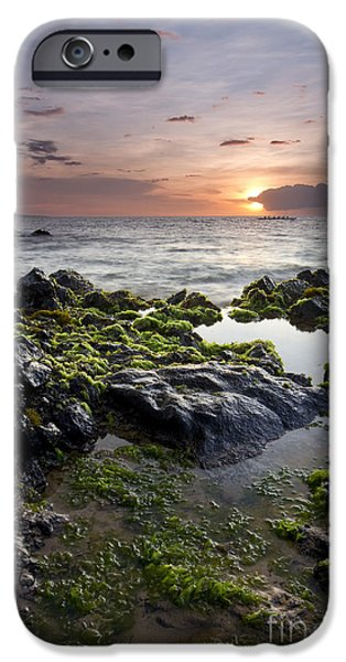 Canoe iPhone Cases - Primordial Hawaii iPhone Case by Dustin K Ryan