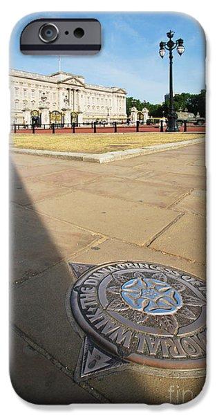 Princess Diana iPhone Cases - Princess Diana Memorial Walk At Buckingham Palace iPhone Case by Yhun Suarez