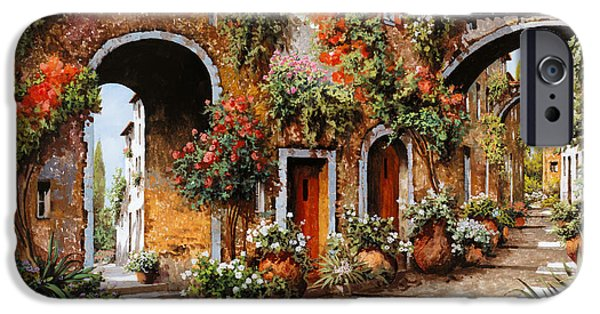 Italy iPhone Cases - Profumi Di Paese iPhone Case by Guido Borelli