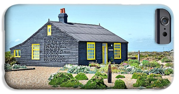 Prospects iPhone Cases - Prospect Cottage Dungeness iPhone Case by Chris Thaxter