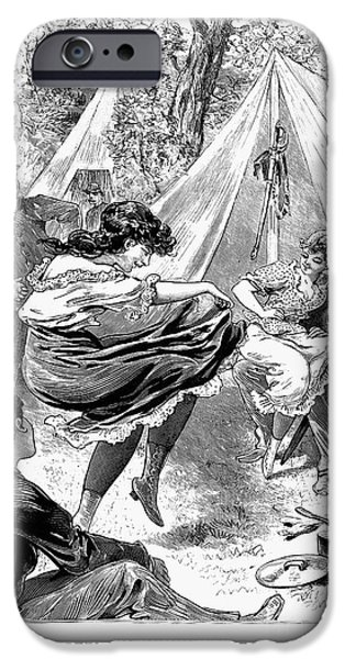 PROSTITUTION, 1895 iPhone Case by Granger