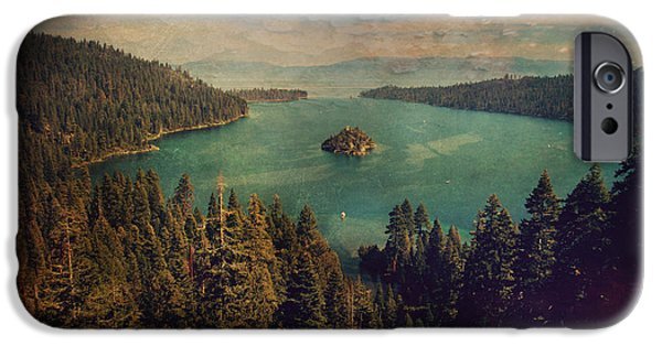 Outdoors Digital Art iPhone Cases - Protection iPhone Case by Laurie Search