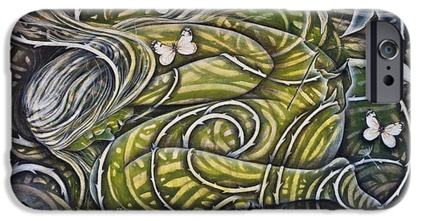 Vine Leaves iPhone Cases - Protection iPhone Case by Sheri Howe