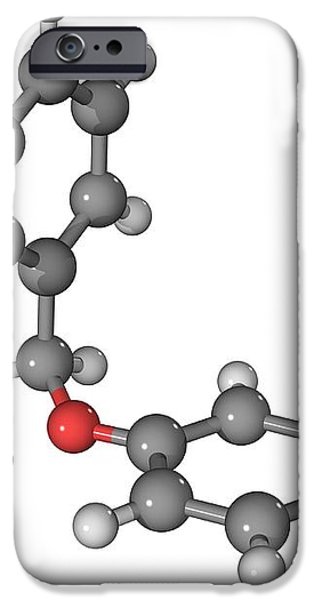 Prozac Antidepressant Molecule iPhone Case by Laguna Design