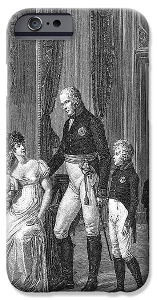 PRUSSIAN ROYAL FAMILY, 1807 iPhone Case by Granger