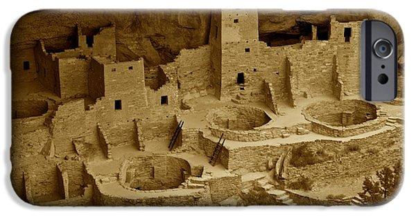 Pueblo Architecture iPhone Cases - Pueblo Village iPhone Case by Sean Cupp