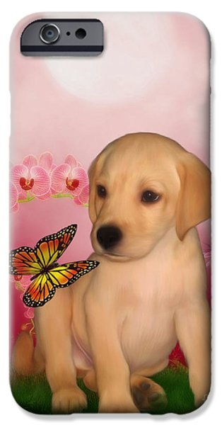 Puppy Innocence iPhone Case by Smilin Eyes  Treasures