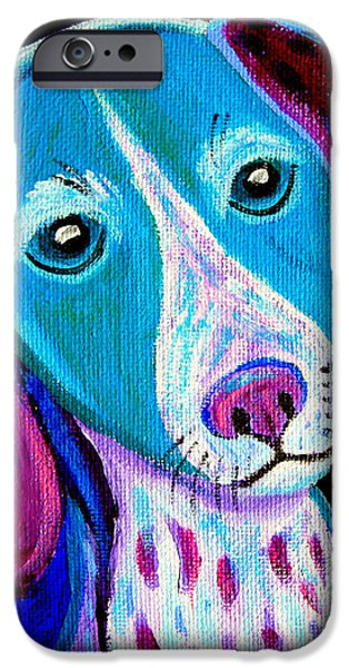 Puppy Love iPhone Case by Nick Gustafson