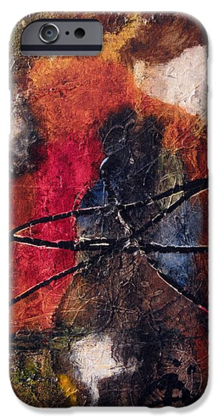 Abstracted Reliefs iPhone Cases - Pure Emotion iPhone Case by Jill English