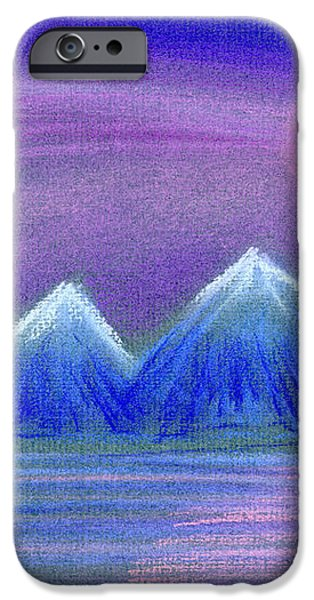 Purple Night 3 iPhone Case by Hakon Soreide