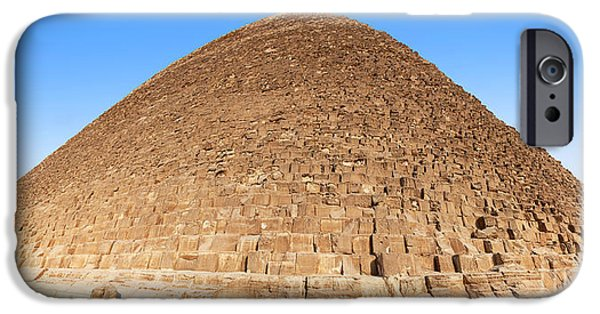 Ruins iPhone Cases - Pyramid Giza. iPhone Case by Jane Rix