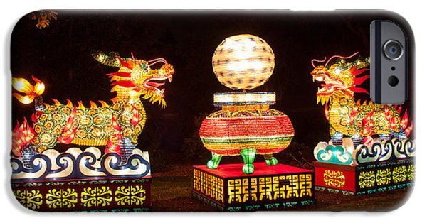 Installation Art Photographs iPhone Cases - Qilin iPhone Case by Semmick Photo