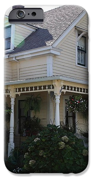 Quaint House Architecture - Benicia California - 5D18793 iPhone Case by Wingsdomain Art and Photography