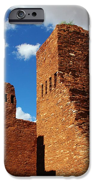 Quarai Salinas Pueblo Missions National Monument iPhone Case by Christine Till