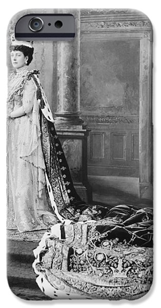 Queen Alexandra, 1902 iPhone Case by Omikron