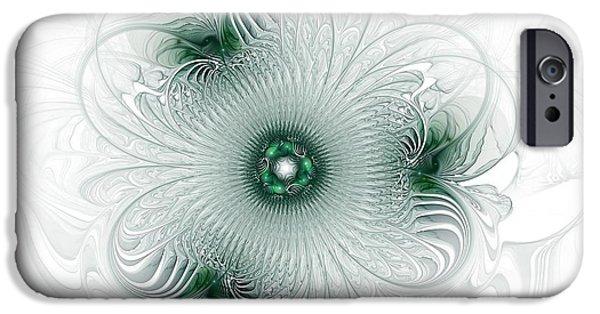 Queen Digital Art iPhone Cases - Queen Of Queens iPhone Case by Georgiana Romanovna