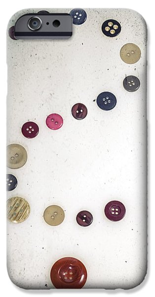 Sew iPhone Cases - Question Mark iPhone Case by Joana Kruse