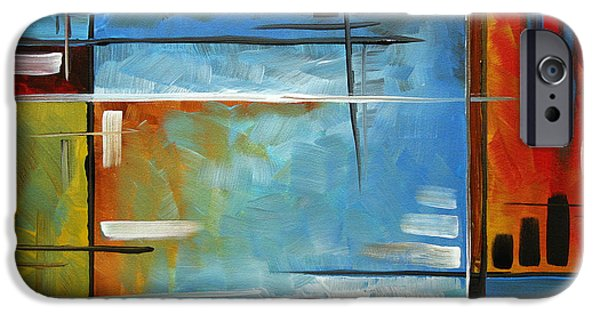 Abstract Style iPhone Cases - Quiet Whispers by MADART iPhone Case by Megan Duncanson