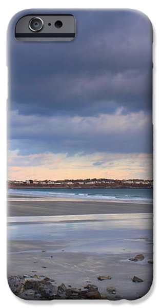 Quiet Winter Day at York Beach iPhone Case by John Burk
