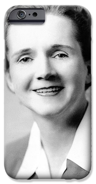 RACHEL CARSON (1907-1964) iPhone Case by Granger