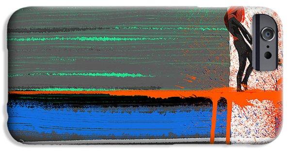 Seductive Paintings iPhone Cases - Rage iPhone Case by Naxart Studio