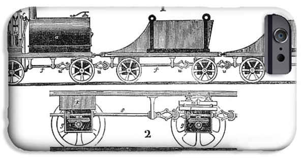 Nineteenth iPhone Cases - Railway Carriages iPhone Case by Science, Industry & Business Librarynew York Public Library