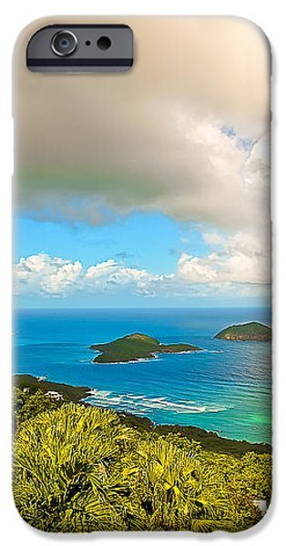 Rain in the Tropics iPhone Case by Keith Allen