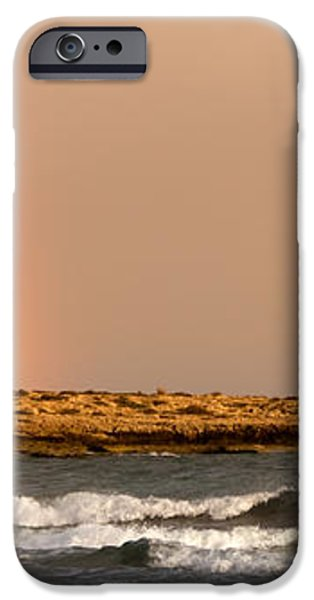 rainbow by the sea iPhone Case by Stylianos Kleanthous