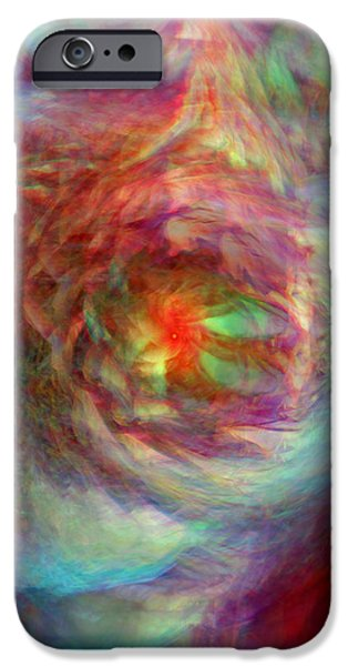 Rainbow Dreams iPhone Case by Linda Sannuti